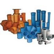 Трубы канализационные, фитинги и трапы