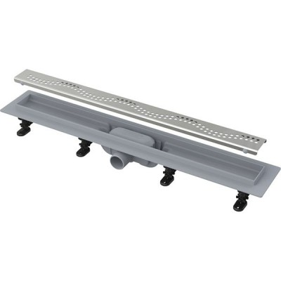 APZ8-850 Simple - Водоотводящий желоб с порогами для перфорированной решетки