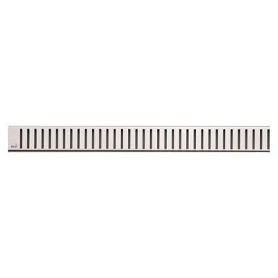 PURE-950L Решетка для водоотводящего желоба (Нержавеющая сталь глянцевая)