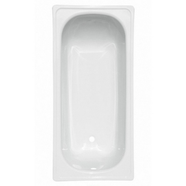 """Ванна стальная 1,2*0,7*0,4 (ВИЗ) Антика """"Белая Орхидея"""" цв.белый (ОР-21200)"""