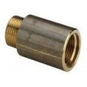 """Удлинитель 1/2"""" г/ш L=10 мм никел. """"Valtec"""" (без граней) (VTr.198)"""
