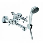 ELC2510 Смеситель KONNER ELEMENT CROSS для ванны с аксессуарами