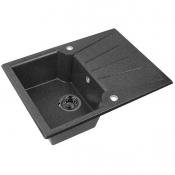 Кухонная мойка Монца 500x680x175 мм Графит (аналог черн)
