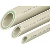 Труба (PPRC) Faser Д=63 L=4,0 м (FV-PLAST) (Чехия) (1 метр)