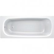 Ванна стальная UNIVERSAL HG 150x75 белая 3,5 мм с отверстиями для ручек 208 мм