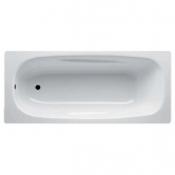 Ванна стальная UNIVERSAL ANATOMICA 170x75 белая без отверстий для ручек 208 мм