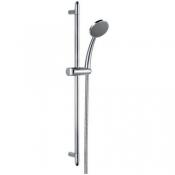 Комплект: стойка душевая 685 мм с 1-функциональной лейкой и шлангом 1,5 м, хром
