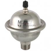 Гаситель гидроударов мембранный, 0,162 л (нерж)