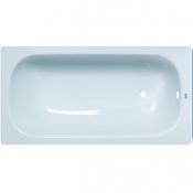 """Ванна стальная 1,5x0,7x0,4 (ВИЗ) Донна Ванна антибактер. """"Летний небесный"""" (светло-голубая)"""