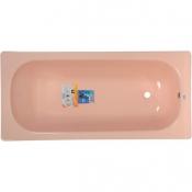 """Ванна стальная 1,5x0,7x0,4 (ВИЗ) Донна Ванна антибактер. """"Розовый коралл"""" (розовая)"""