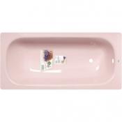 """Ванна стальная 1,7x0,7x0,4 (ВИЗ) Донна Ванна антибактер. """"Розовый коралл"""" (розовая)"""