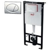 Комплект системы инсталляции ALCAPLAST для подвесного унитаза A101/1120 с кн. M71