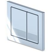 Кнопка инсталляции  WP1210 квадрат хром глянец