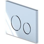 Кнопка инсталляции WP1310 круг хром глянец