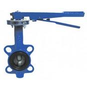Затвор поворотн дисковый ручн ДУ-50 PN16 (темп -30 +130, диск-чугун, уплотн-резина EPDM)