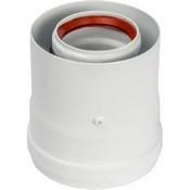 VIVAT Адаптер вертикальный коаксиальный d 60/100 мм (Baxi IT, Protherm, Vaillant, Viessmann и др.)