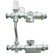 """Насосно-смесительный узел для системы напольного отопления,так и для радиаторного отопления 11/2"""", 130мм"""