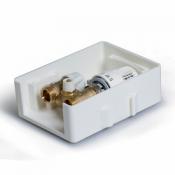 Регулировочный монтажный короб с ограничителем температуры обратного потока с помощью вентиля UNI-RTL