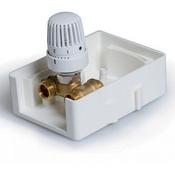 Регулировочный монтажный короб  с термостатическим клапаном