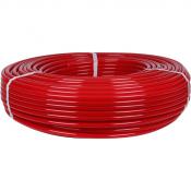 20х2,0 (бухты 240,500 метров) PEX-a труба из сшитого полиэтилена с кислородным слоем, красная STOUT (Италия)