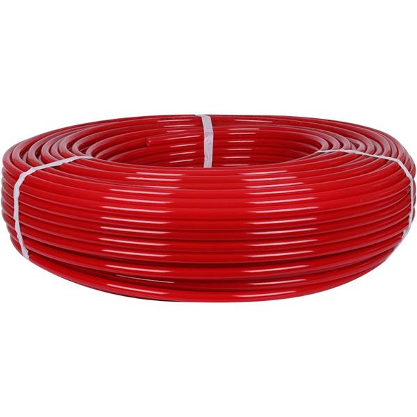 16х2,0 (бухты 100,200,500 метров) PEX-a труба из сшитого полиэтилена с кислородным слоем, красная STOUT (Италия)